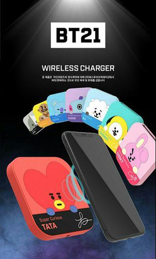 (PRE-ORDER) BT21 Wireless Charger