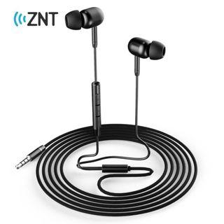 ZNT R664 in-Ear Wired Stereo HIFI Sound Quality Earphone with free casing