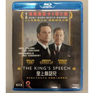 皇上無話兒 Blu ray 二手 電影 The King's Speech