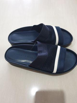 🚚 Charles & Keith blue slipper