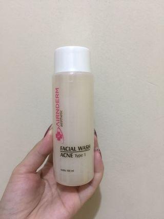 Facial wash acne type 1