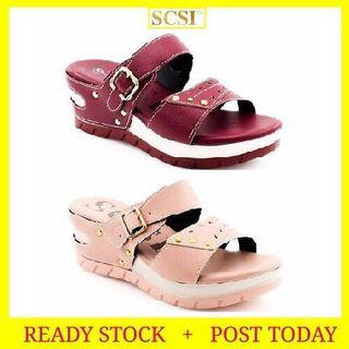 SCSI Luxury Shoes Serius-Chunky Wedges