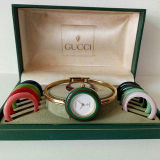 Auth Gucci Bezel Watch