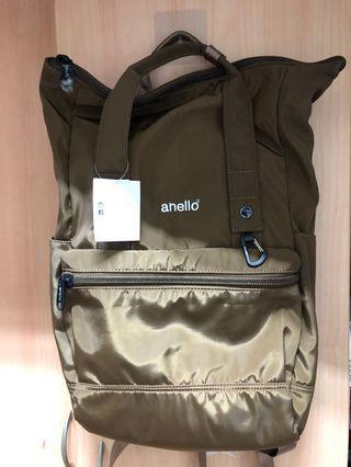 Anello 咖啡色後背包