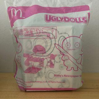 McDonald's Happy Meal Toys Ugly Dolls Moxy's Newspaper Stand