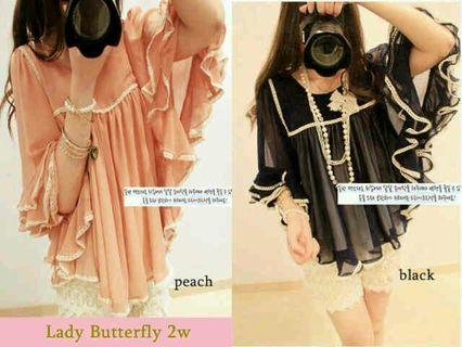 Lady butterfly bahan hycon
