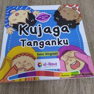 Buku Anak Kujaga Tanganku El Hana
