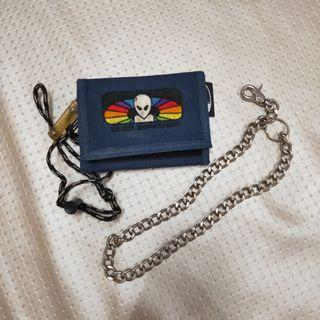 Vintage Alien Workshop Wallet/Dompet
