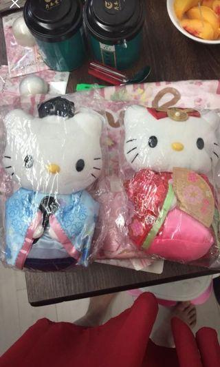 Hello Kitty 正版和服公仔