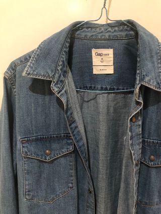 GAP denim jacket/shirt