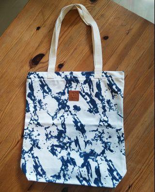 Eco friendly shopping bag with zipper