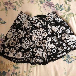 Pom Pom Floral Shorts