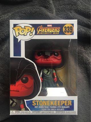 Funko Pop! Stonekeeper Avengers Infinity War Hot Toys Japan
