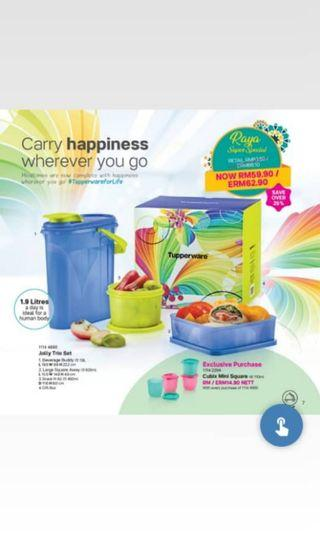 Tupperware beverage buddy & others