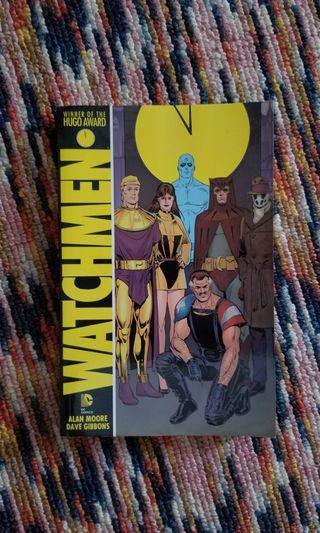 Watchmen comic novel by Alan Moore and Dave Gibbons