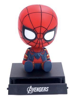 Marvel avenger Iron man/Spider-Man deco/phone holder