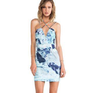 AQ/AQ - Yarra Mini Dress - Auryn - Size 8