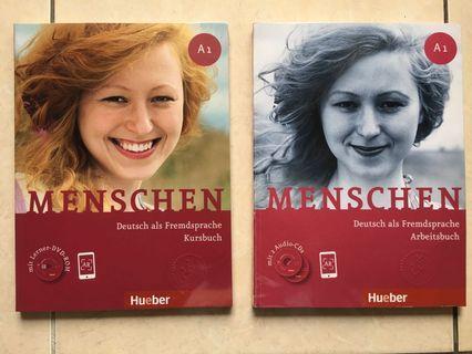 MURAH! Menschen Arbeitsbuch & Kursbuch A1 & A2 (Belajar Bahasa Jerman)