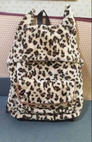 Stylo Leopard Backpack