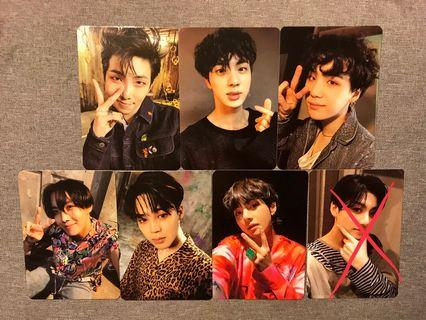 BTS ARMY BOMB PHOTOCARD