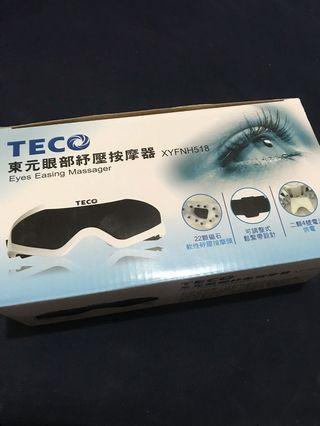 🚚 TECO 東元眼部紓壓按摩器