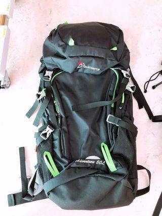 🚚 MountainTop Adventure Backpack 50litre
