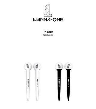 WANNA ONE Snowball Pen (Black / White)