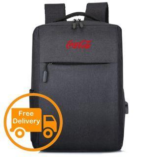 Coca-cola Backpack Laptop Notebook Bag