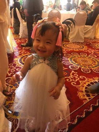 Dress baby bubble girls