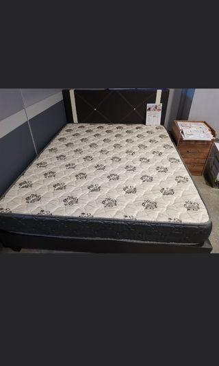 Queen Size Bed With Mattress For Clearance