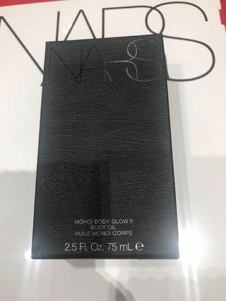 全新清貨Nars Monoi body glow body oil 75ml