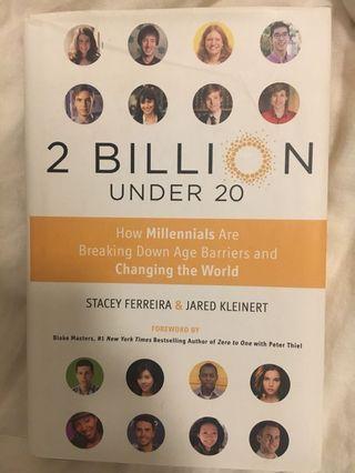 2 billion under 20 — business book