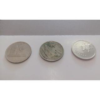 OLD COINS - 10 SEN/10 CENT : 3 GENERATION