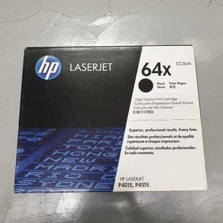 Original HP 64X (CC364X) High Yield Toner for HP LaserJet P4015 / P4515 (Page Yield: 24,000 pages)
