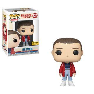 Funko POP! Television Stranger Things 3 Eleven (With Slicker) Hot Topic Exclusive #827