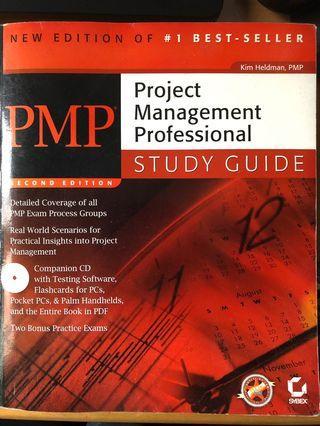 PMP Exam prep book (連末開CD)
