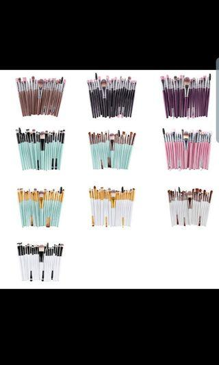 🚚 20 PCs make up brushes