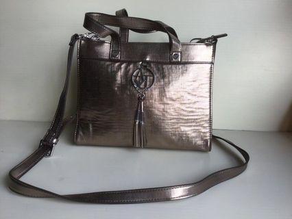 AJ Gold Handbag