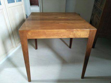 Soild teak dinning table