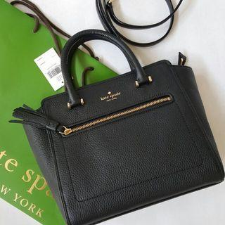 (Available !) Kate Spade Chester Street Allyn (Black & Brown)