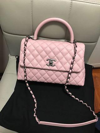 Chanel Coco Handle 🈹🈹🈹Sakura Pink🌸28cm 🌸Super Rare