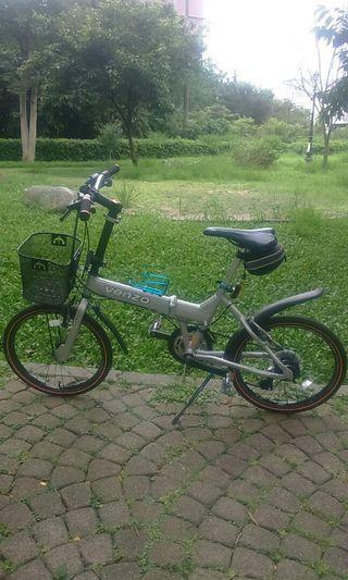 Alloy folding bike (VENZO)
