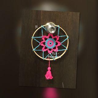 🚚 Mandala crochet hoop