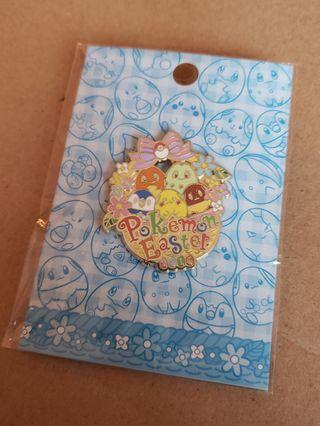 日本復活節限定 POKEMON 比卡超 襟章