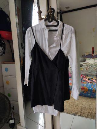 Zara two layer shirt