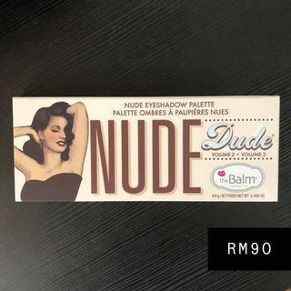 The Balm Nude Dude Volume 2