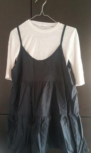 韓國全新衫及吊带裙