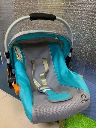 Capella Baby Carrier Car Seat Blue