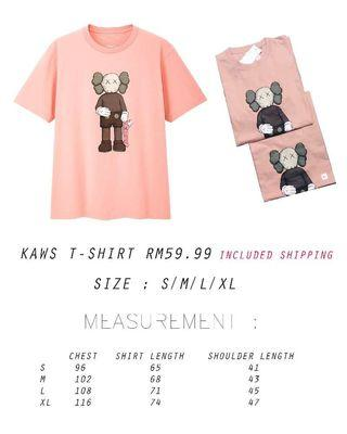 Unisex Kaws t shirt Rm59.99 included Shipping 💫