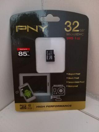全新 電話卡 PNY 32GB micro SD SDHC 原裝行貨